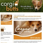 Corgi Calendar and Corgi Butts