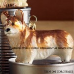 Corgi Ornament at Gumps
