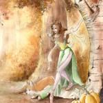 Autumn Ballerina & Rylee the Rocket Pig (a cute corgi comic) by Joie Brown